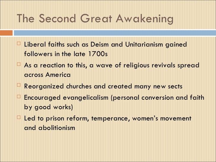 analysis of the great awakening and