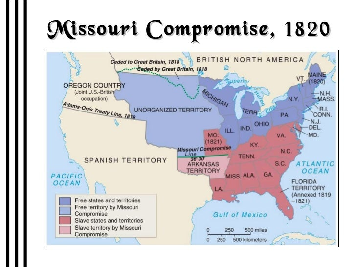 compromises of 1820 1860 Matthew pinsker gives a crash course on the compromise of 1850, the resolution to a dispute over slavery in territory gained after the mexican-american war  the election of 1860 & the road to.
