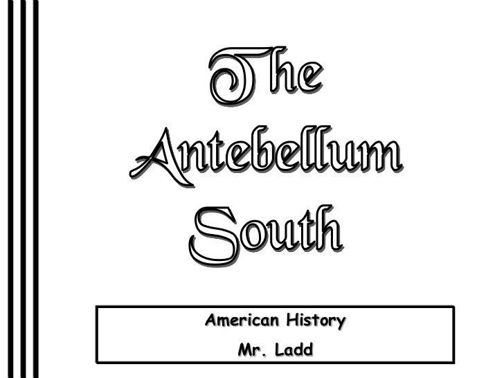 American History   Mr. Ladd