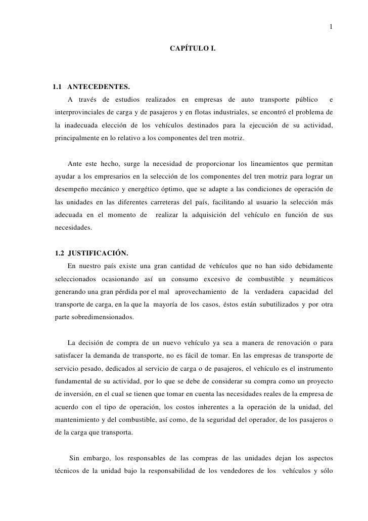 1                                      CAPÍTULO I.1.1 ANTECEDENTES.    A través de estudios realizados en empresas de auto...
