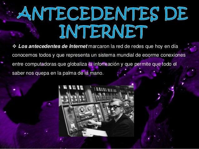 Antecedentes Del Internet Slide 2