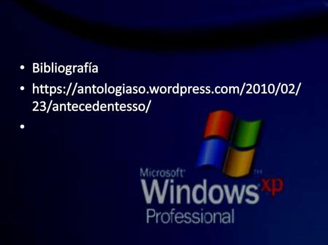 ° Bibliografía ° https: //anto| og¡aso. wordpress. com/2010/O2/  23/a ntecedentesso/   v'. i« _rr, :.«. ai?       .  I WIH...