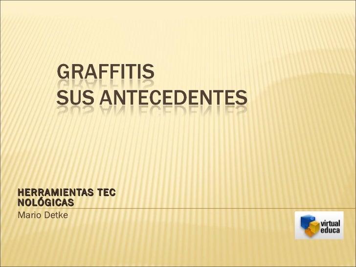 HERRAMIENTAS TEC NOLÓGICAS Mario Detke