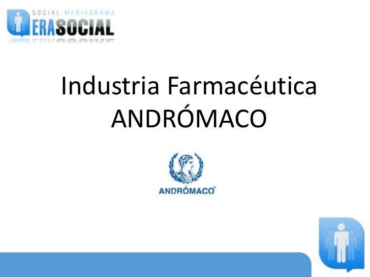 Industria Farmacéutica    ANDRÓMACO                08 /04/2010