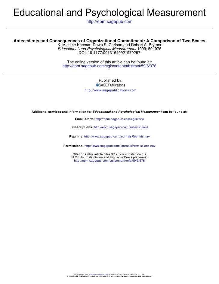 Educational and Psychological Measurement                                                     http://epm.sagepub.com    An...