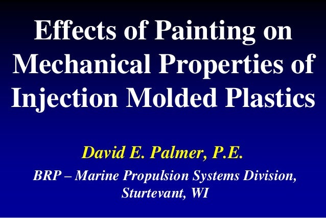 Effect Of Painting On The Mechanical Properties Of