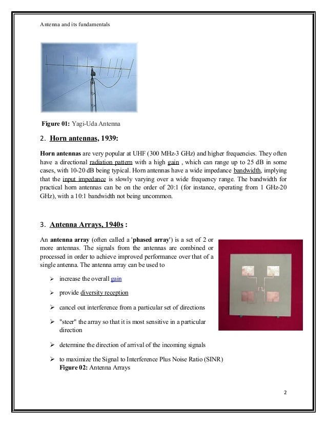 Antenna Theory - Fundamentals