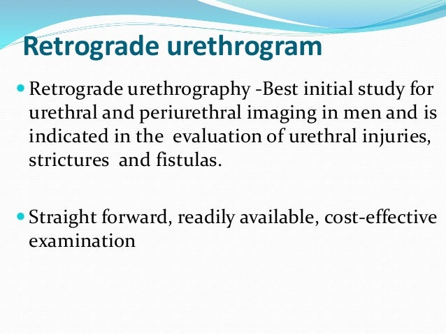 Patient preparation  Empty urinary bladder  Allergic to x-ray contrast material  Consent Preliminary film  Coned supin...