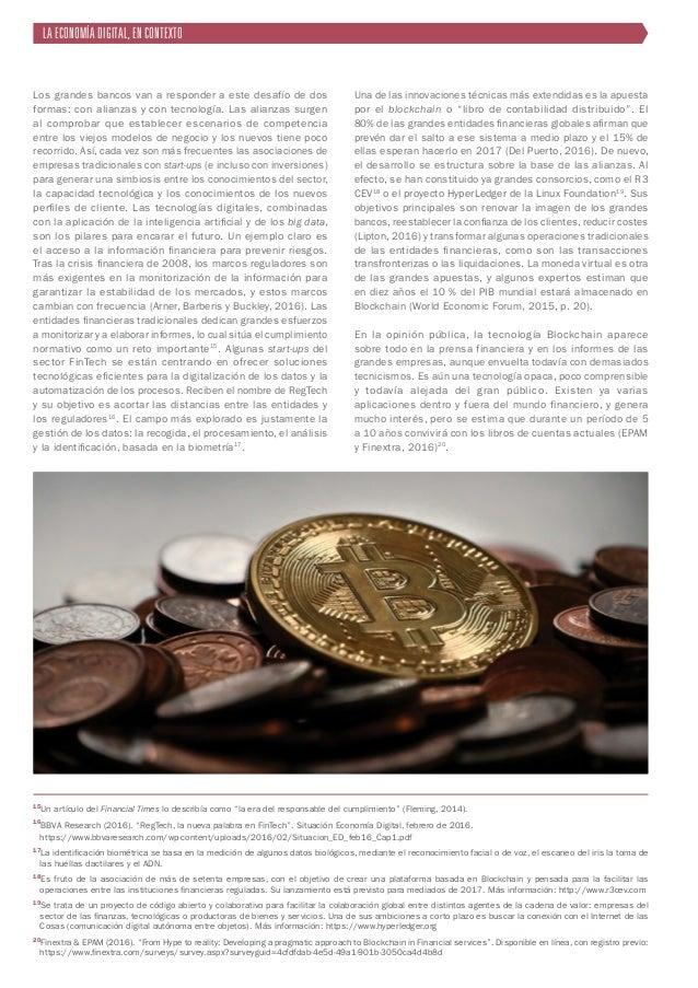15 ¿En qué consiste la tecnología Blockchain? Blockchain es una base de datos, un libro de cuentas digital que registra bi...