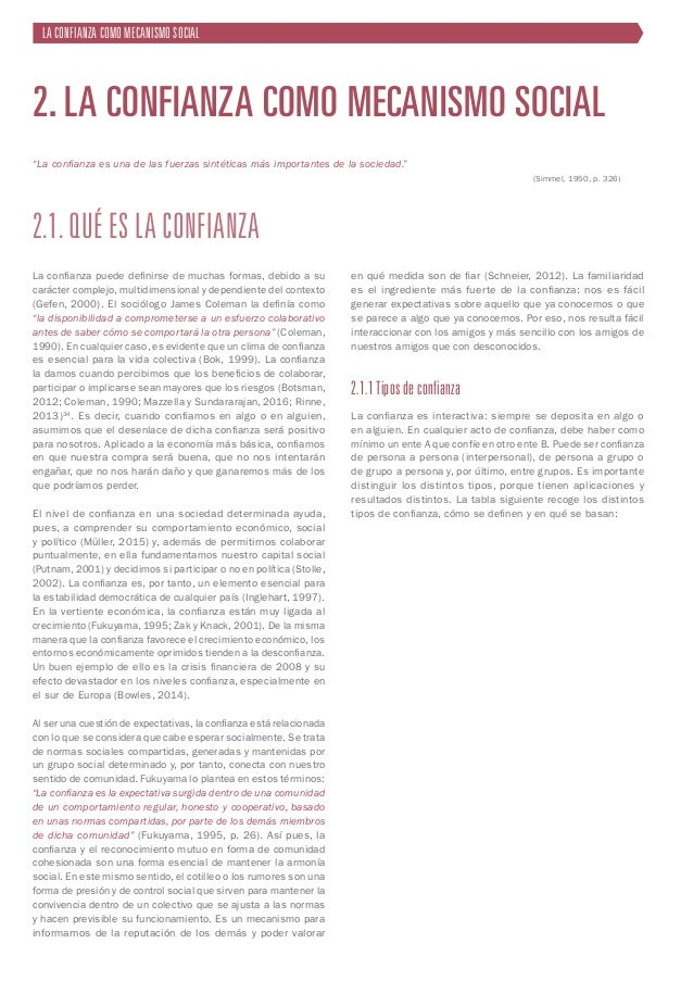 21 Tipo Subtipo Definición Origen o fuente (Ba y Pavlou, 2002) Consecuencias Interpersonal (Freitag y Traunmüller, 2009) P...
