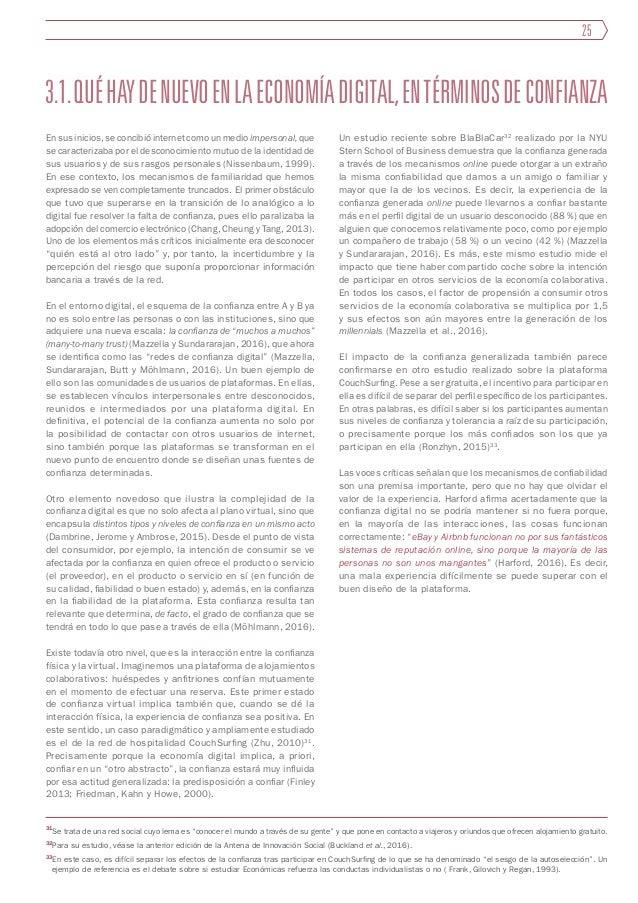 3.2. La creación de la confianza digital La confianza digital difícilmente se da de forma espontánea: es un fenómeno que ...