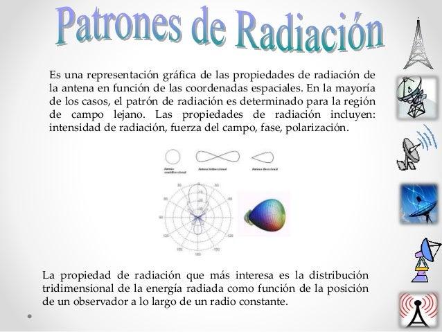 Es una representación gráfica de las propiedades de radiación de la antena en función de las coordenadas espaciales. En la...