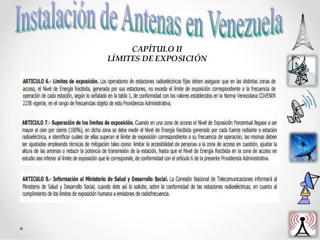 CAPÍTULO III ANTENAS Y ESTACIONES RADIOELÉCTRICAS FIJAS