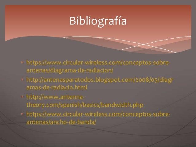 https://www.circular-wireless.com/conceptos-sobre- antenas/diagrama-de-radiacion/ http://antenasparatodos.blogspot.com/200...