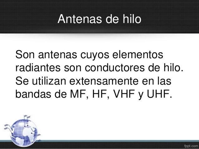 Antenas de Hilo Slide 2