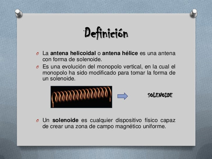 Antenas Helicoidales Slide 2