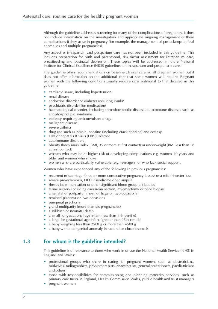 Antenatal care – Pedigree Worksheet Interpreting a Human Pedigree