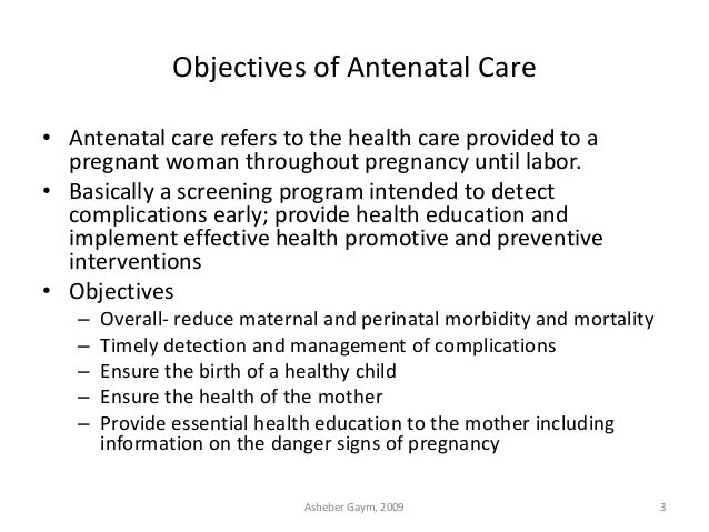 antenatal care Our flexible approach to antenatal care means that you can choose the model of  care that suits your individual health needs and preferences you can choose to.