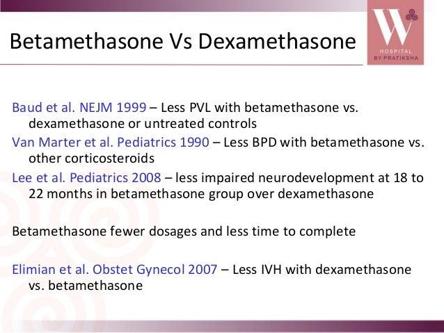 betamethasone preterm labor mechanism