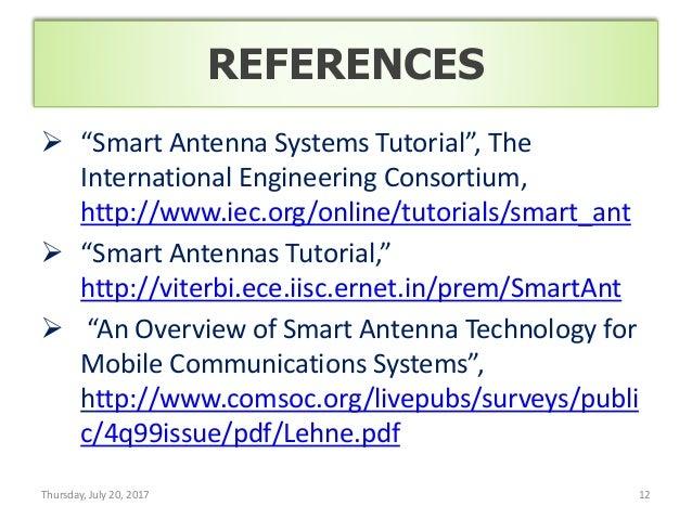Smart Antenna Pdf