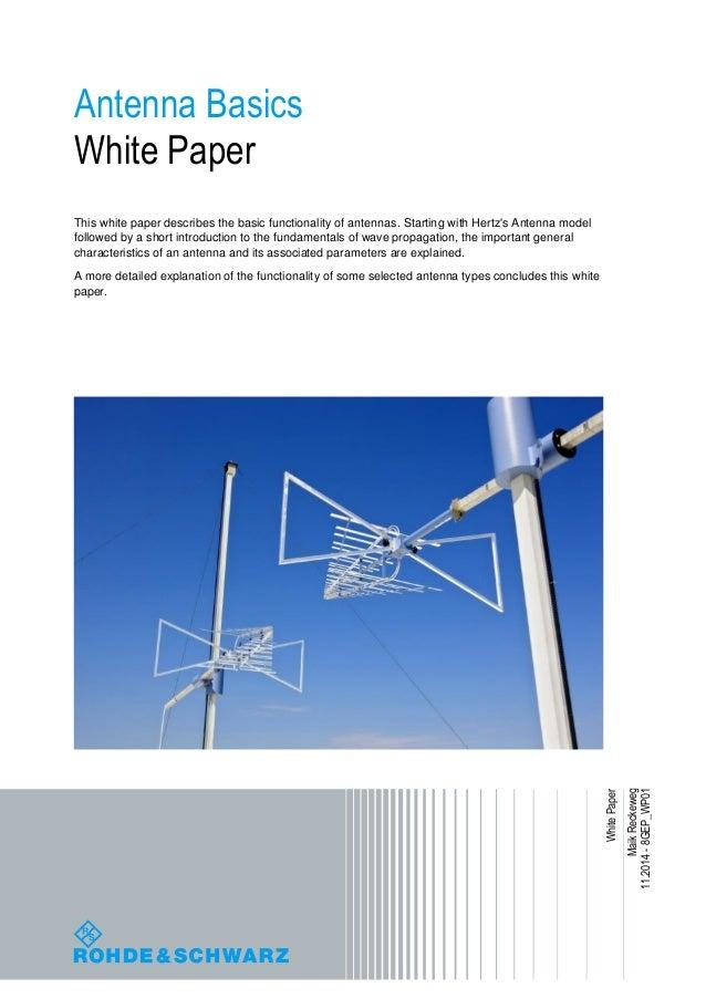 Antenna basics from-r&s