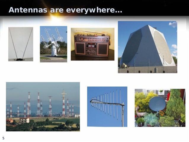 Antennas are everywhere… 5