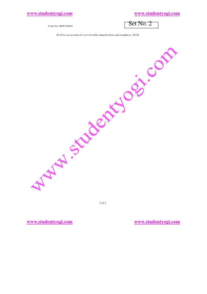 www.studentyogi.com                                                               www.studentyogi.com          Code No: R0...