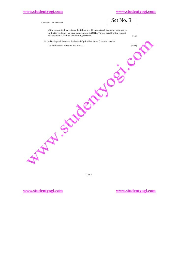 www.studentyogi.com                                                                  www.studentyogi.com          Code No:...