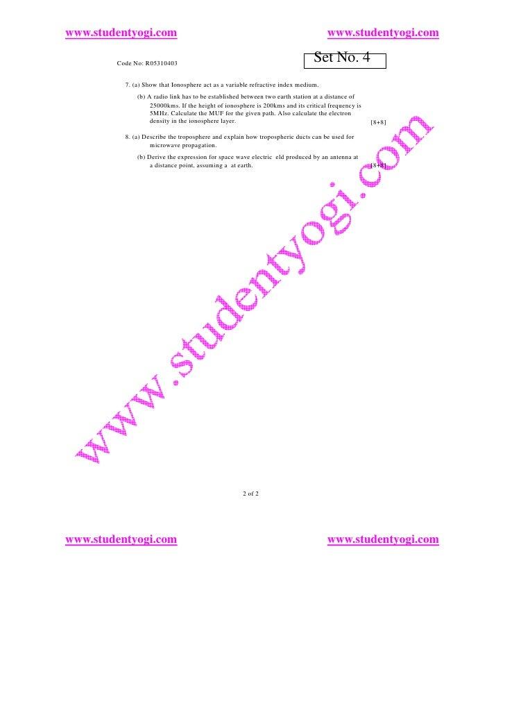 www.studentyogi.com                                                                www.studentyogi.com          Code No: R...