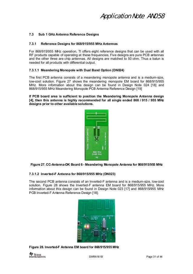 Antenna selection guide