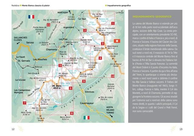 10 11 1 2 3 4 5 6 7 8 9 Le Brévent 2525 m Aiguille Verte 4122 m Aiguille du Midi 3842 m Aiguille du Plan 3673 m Mt. Maudit...