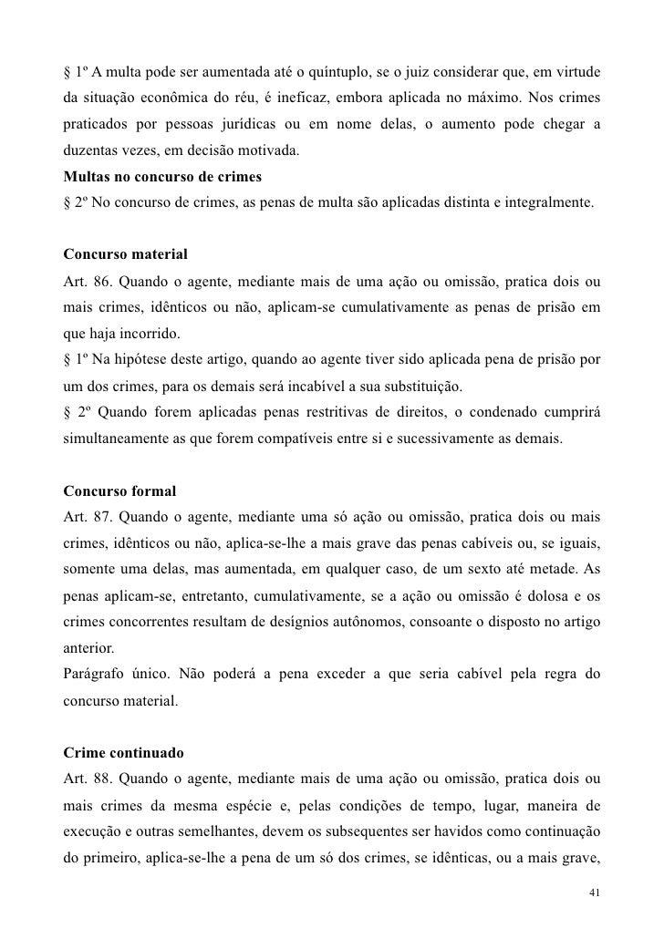 Artigo 41 codigo penal