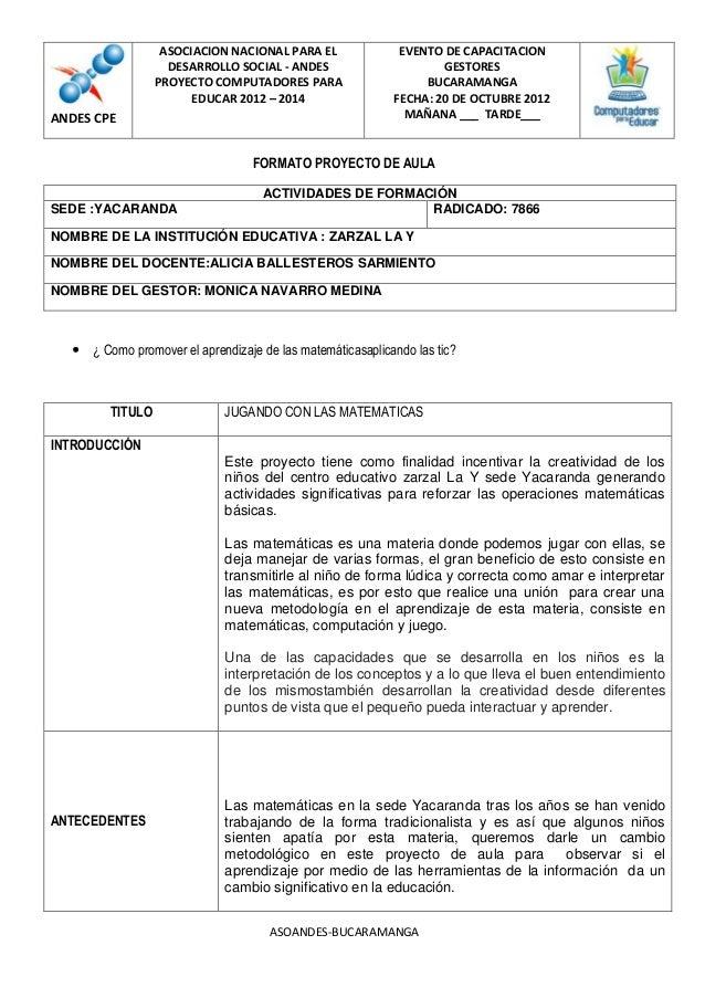 ASOCIACION NACIONAL PARA EL               EVENTO DE CAPACITACION                   DESARROLLO SOCIAL - ANDES              ...