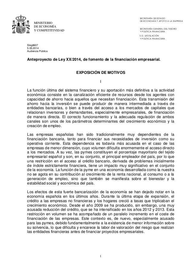 SECRETARÍA DE ESTADO DE ECONOMÍA Y APOYO A LA EMPRESA  MINISTERIO DE ECONOMÍA Y COMPETITIVIDAD  SECRETARÍA GENERAL DEL TES...