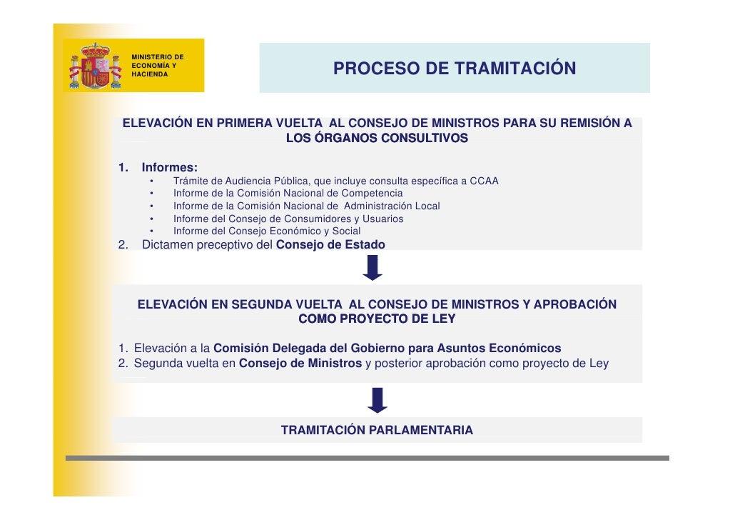 MINISTERIO DE                                                  PROCESO DE TRAMITACIÓN      ECONOMÍA Y      HACIENDA     EL...