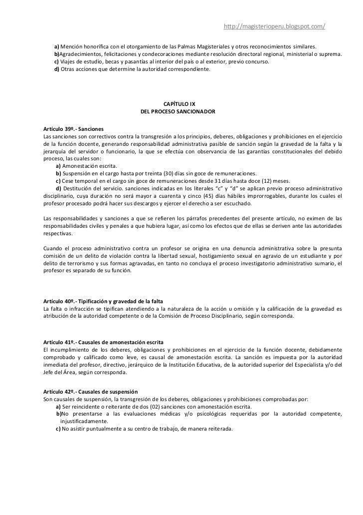 Anteproyecto de ley de desarrollo docente for Concurso docentes exterior