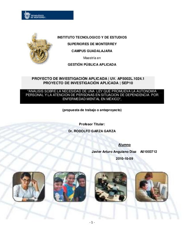 INSTITUTO TECNOLOGICO Y DE ESTUDIOS                     SUPERIORES DE MONTERREY                       CAMPUS GUADALAJARA  ...