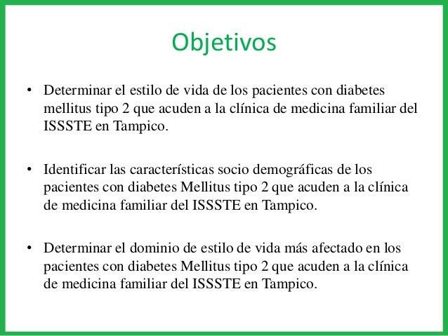Estilos de vida en pacientes con DM2