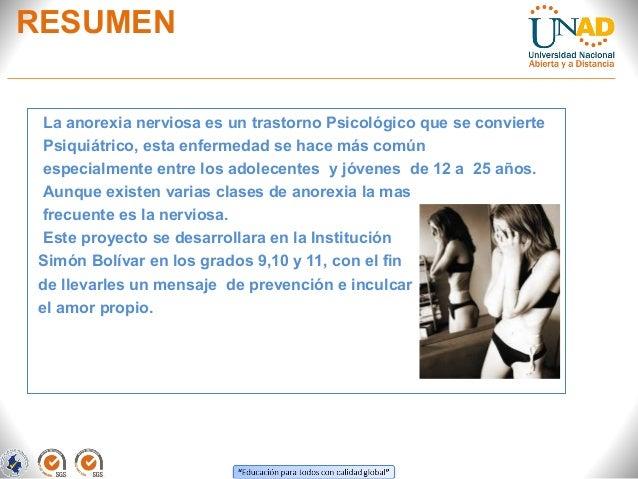 Ante proyecto sobre la anorexia Slide 3