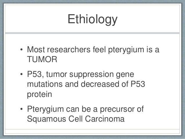 Anterior Segment: Pterygium