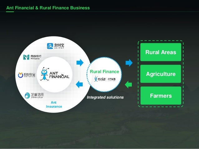 Ant Financial: our rural finance practice