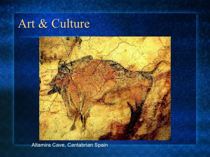 Art & Culture Altamira Cave, Cantabrian Spain