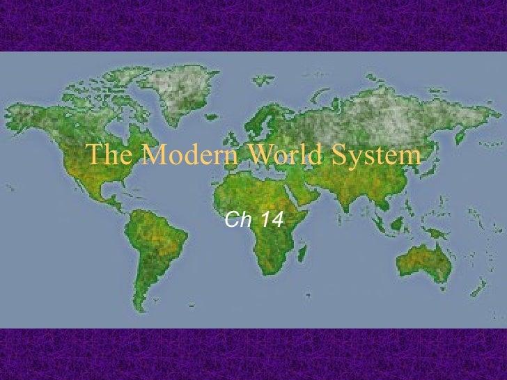 The Modern World System Ch 14