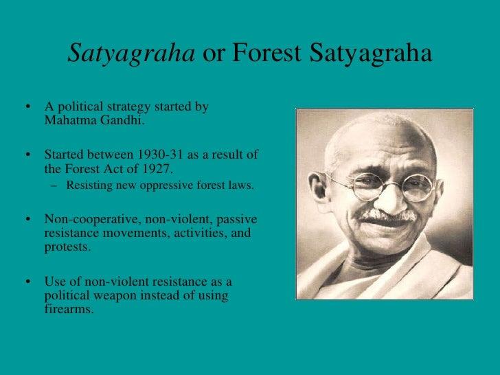 Anth 316 Presentation Non Violent Resistance Satyagraha