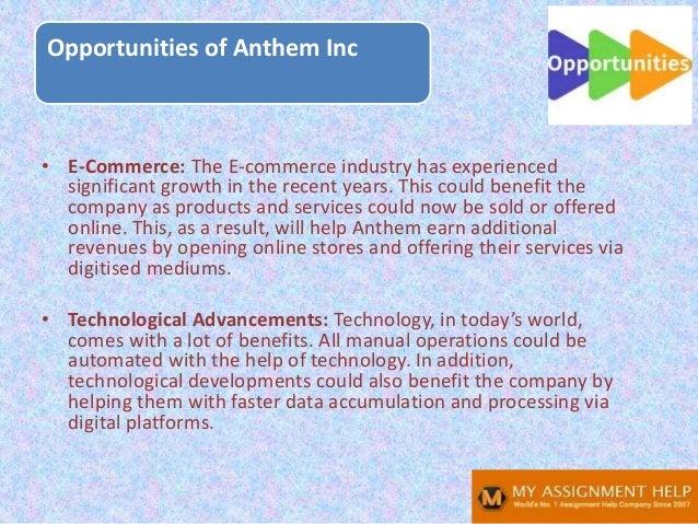 Anthem SWOT analysis Slide 11