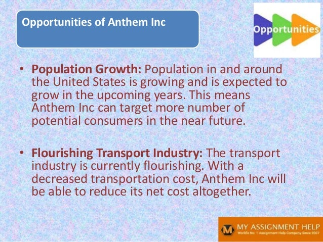 • Population Growth: Population in and around the United States is growing and is expected to grow in the upcoming years. ...