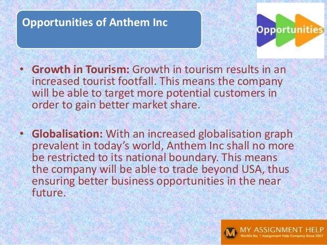 Anthem SWOT analysis Slide 14