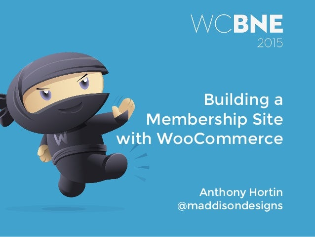 Anthony Hortin @maddisondesigns Building a