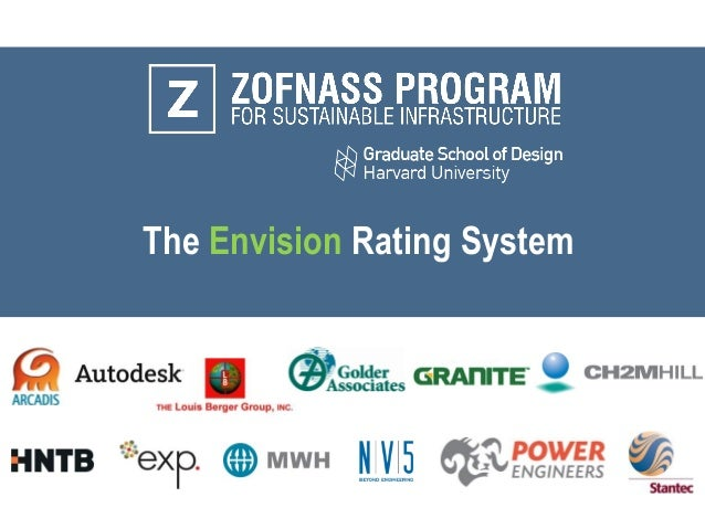 The Envision Rating System