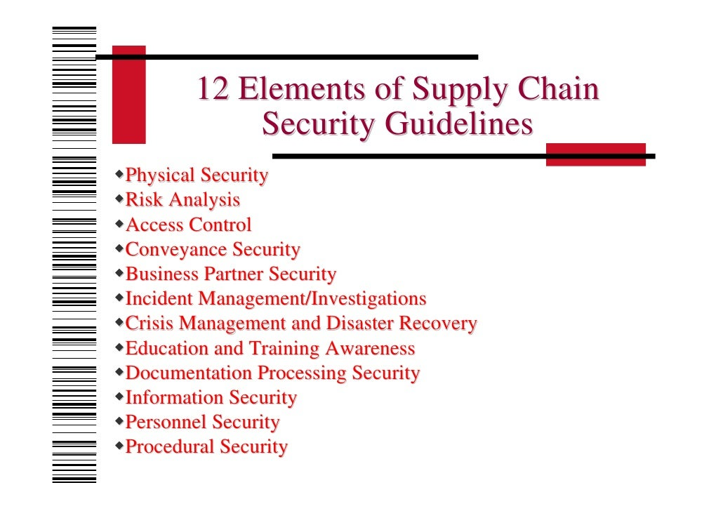 investigation of supply chain risk in In a period of tumbling prices, supply chain management (scm) is  supply  chain management in process industries: empirical investigations for  in the  markets are currently putting both growth and profitability at risk.